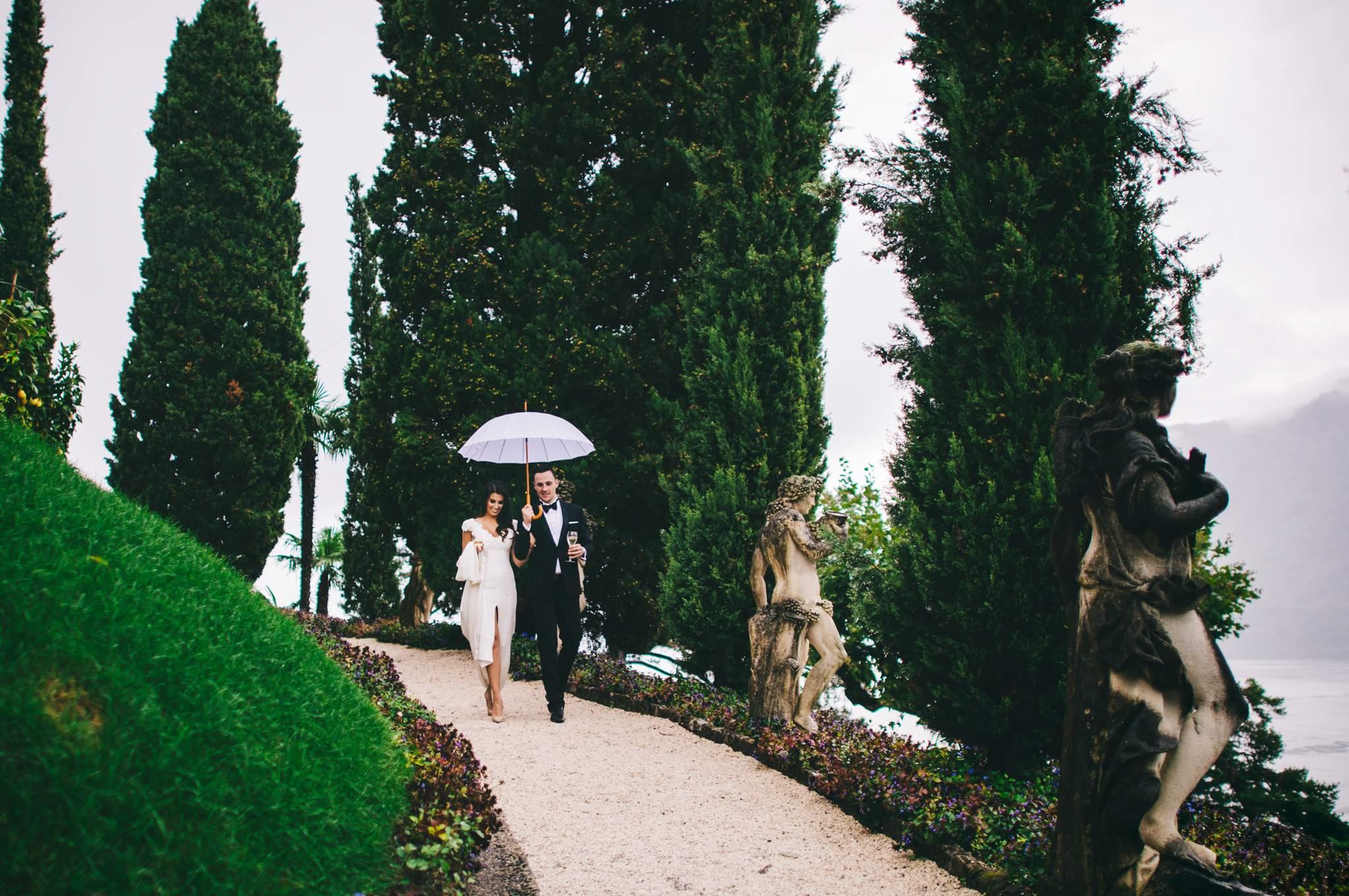 Wedding Como Lake