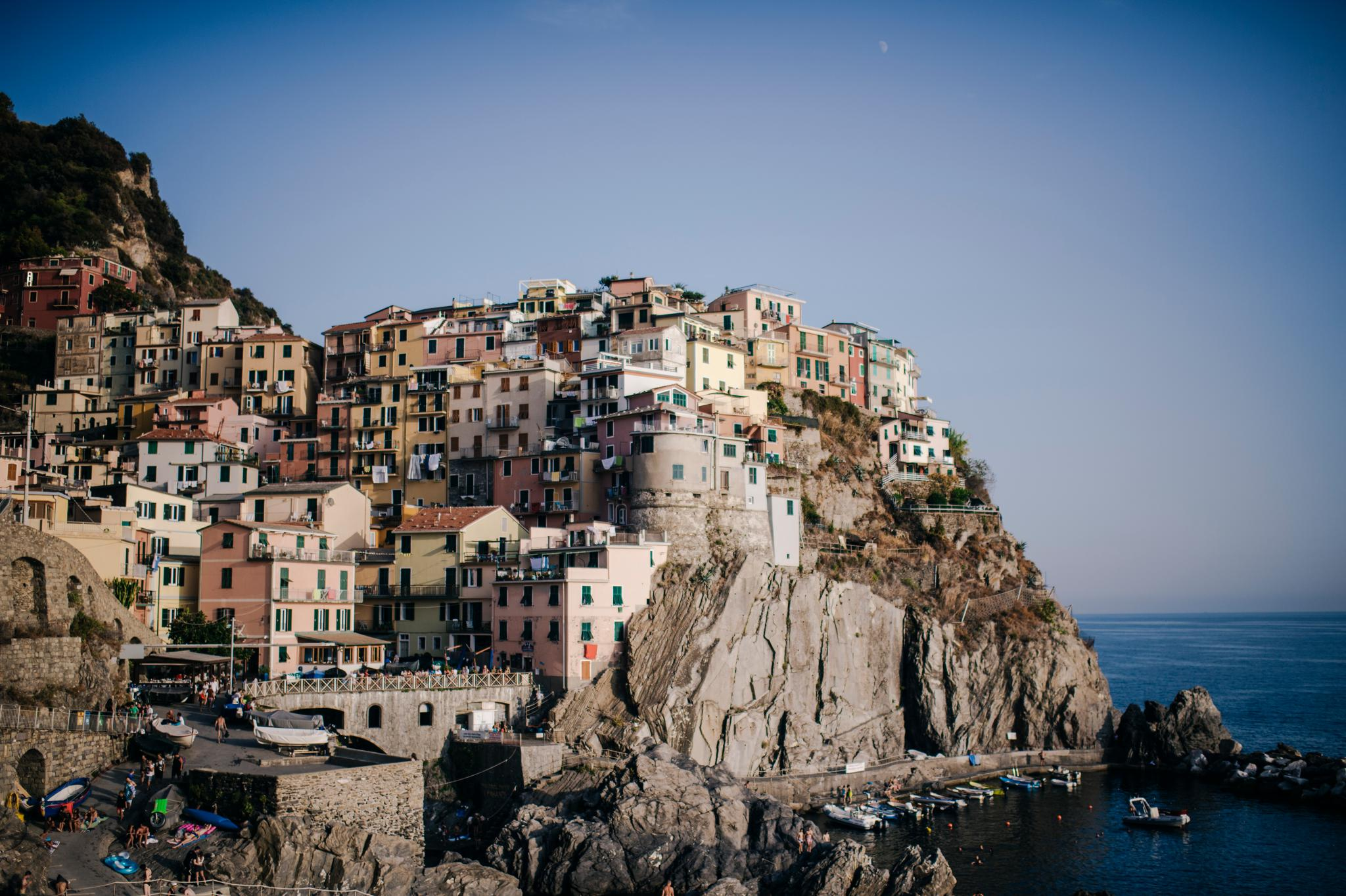 Engagement in Manarola