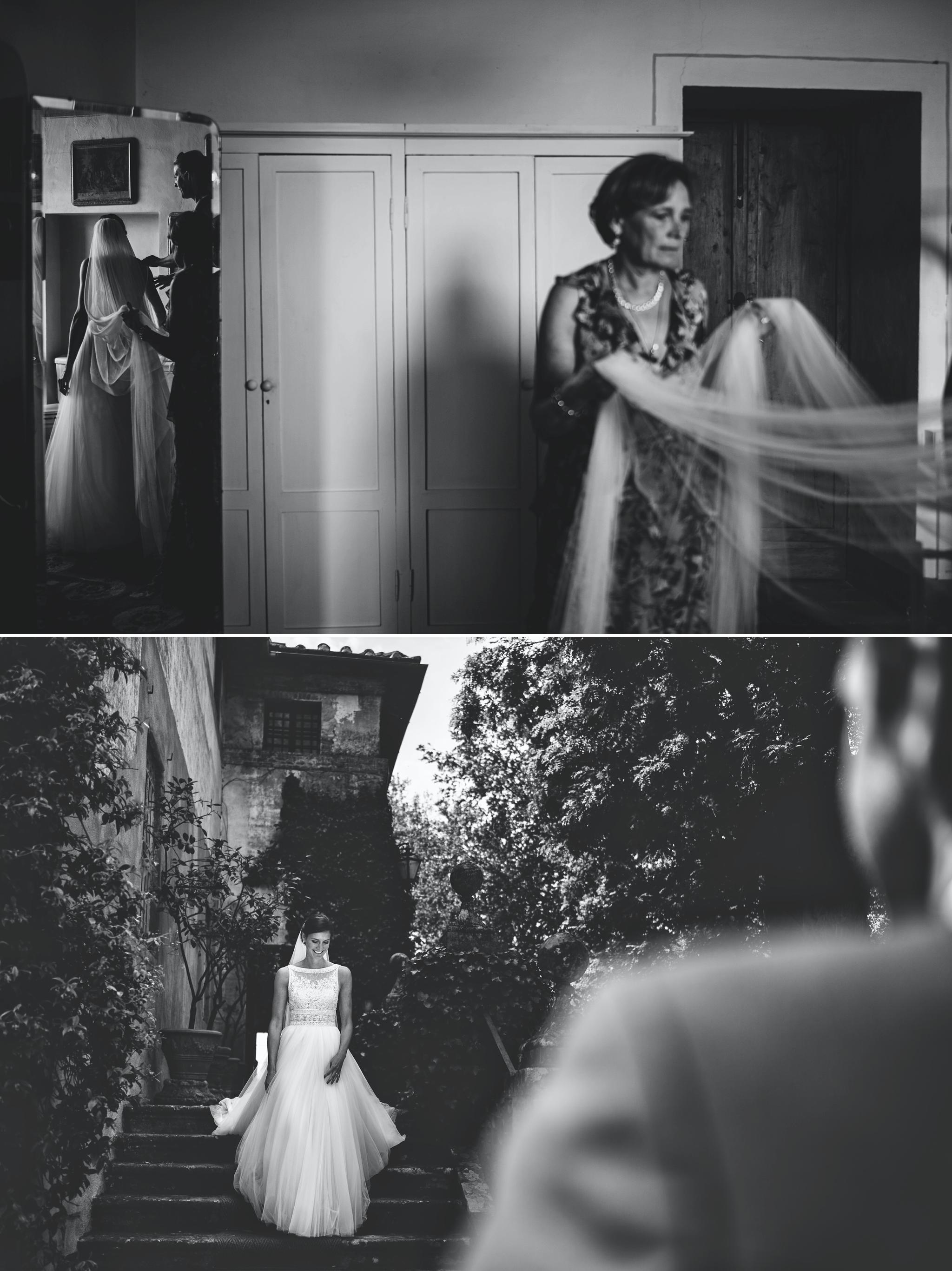 Matrimonio in Toscana – Borgo Stomennano – V & M - Riccardo Pieri